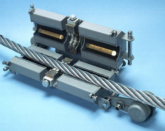 Magnetic NDT of Steel Wire Ropes