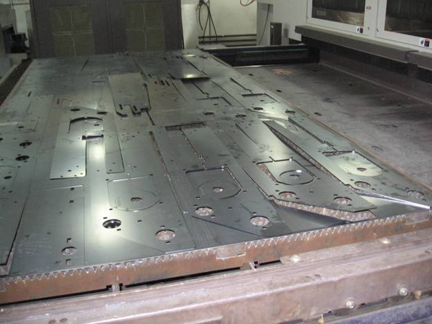 Residual Stress Tesing In Flat Rolled Steel